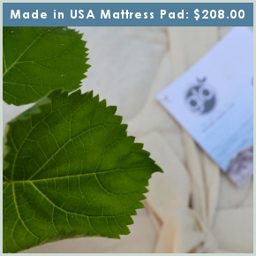 Organic Double-Cotton Mattress Pad