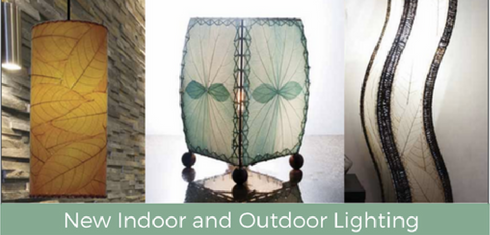 New Indoor and Outdoor Lighting from Eangee Designs