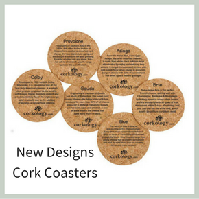 Cork Coasters New Designs