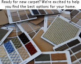 Eco Finishes offers both recycled content carpet and natural wool carpet