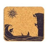 Home Sweet Earth Sustainable Cork Mousepad