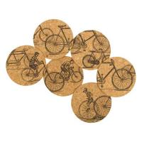Corkology Antique Rides Cork Coaster Set