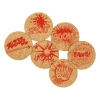 Corkology Comic Book Super-Fantastic Cork Coaster Set