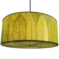 Eangee Home Design Drum Hanging Lamp Green