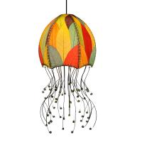 Eangee Home Design Jellyfish Hanging Lamp Multicolor