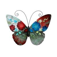 Spring Flowers Butterfly Wallhanging