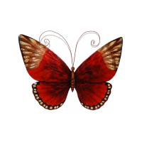 Eangee Red Butterfly Wallhanging