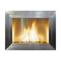 Hearth Cabinet Tall Stainless Steel Fireplace