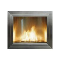 Square Stainless Steel Biofuel Fireplace by Hearth Cabinet