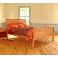 Maple Corner Woodworks - Harvestmoon Panel Bed