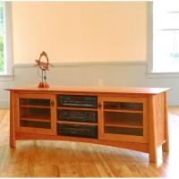 Maple Corner Woodworks - Harvestmoon TV Console Series II