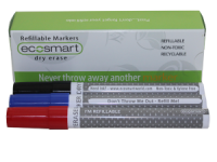 EcoSmart Kit of Refillable Non-Toxic Markers 3x2 Pack