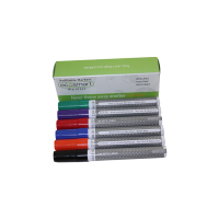 EcoSmart Refillable Non-Toxic Markers, 6 Assorted