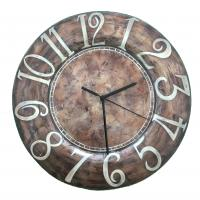 Metallic Wall Art Clock Collection
