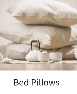 Natural Bed Pillows and Positioners