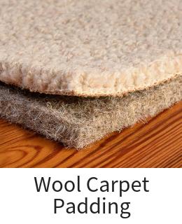 Natural Wool Carpet Padding Underlayment