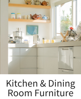 Kitchen Furniture and Dining Room Tables and Side Boards