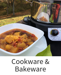 Cookware and Bakeware for a healthy kitchen