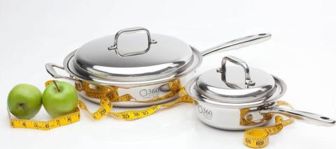 Two Piece Essential Set 360 Cookware