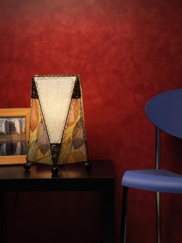 Trapezoid Table or Desk Lamp