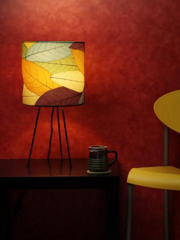 Eangee Meta Tripod Drum Table Lamp