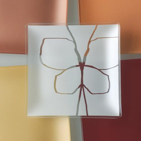 Riverside Design 9 Butterfly Plates With Purpose