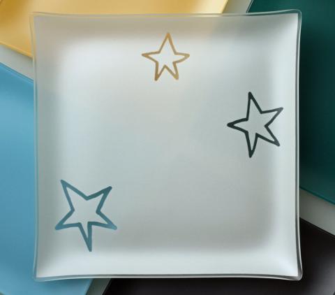 "Riverside Design 13"" Stars Plates With Purpose"