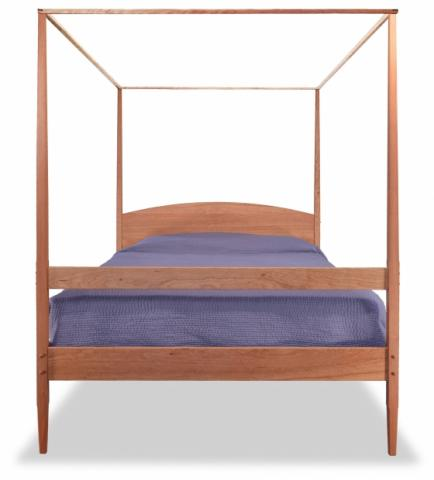 Shaker four poster bed with canopy