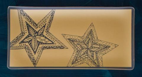 Riverside Design Two Stars Tray