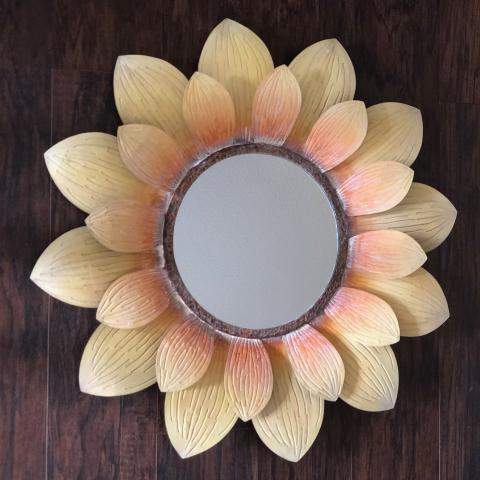 Eangee Sunflower Decorative Wall Mirror