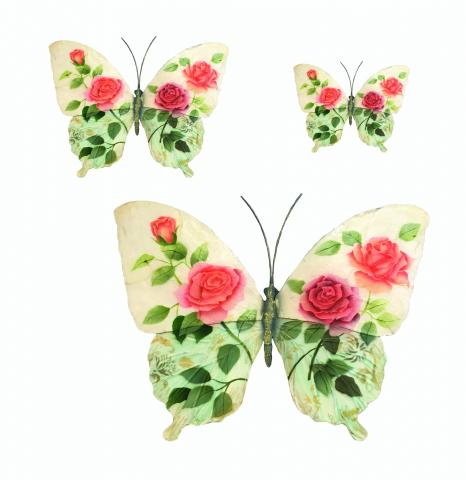 Eangee Butterfly Wall Decor