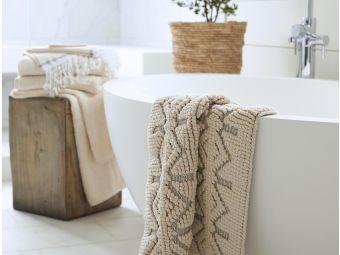 Organic Cotton Bath Rug and Runner