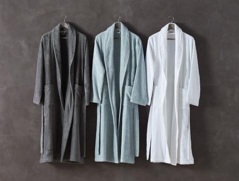 Organic Bath Robe for Women and Men, Unisex Robe