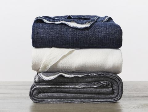 Coyuchi Cosy Cotton Organic Blanket