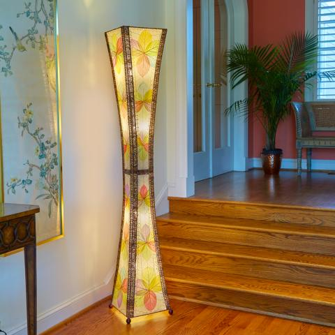 Eangee Giant Hourglass Floor Lamp