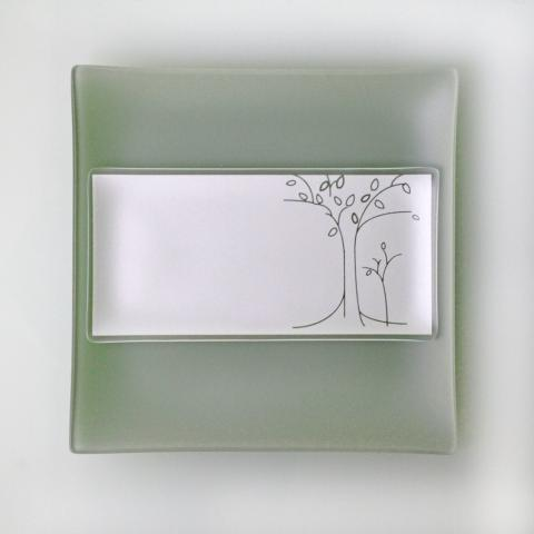 Riverside Design 5x10 Trees Plates With Purpose