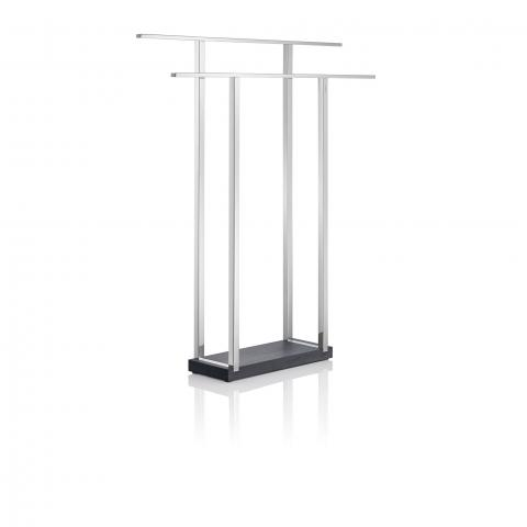 Blomus Menoto Freestanding Towel Stand - polished, wide