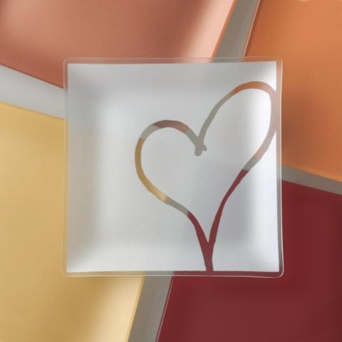 Riverside Design 9 Heart Plates With Purpose