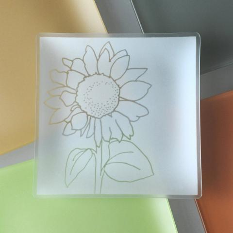 Riverside Design 9 Sunflower Plates With Purpose