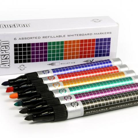 Non toxic refillable whiteboard markers
