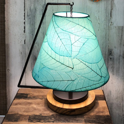 Eangee Pendulum Table Lamp in Sea Blue Color