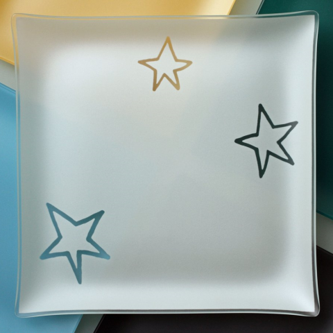 "Riverside Design 13"" Stars Plates With Purpose"