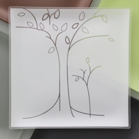 Riverside Design 13 Tree Plates With Purpose