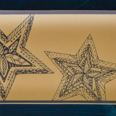 Riverside Design Two Stars Tray