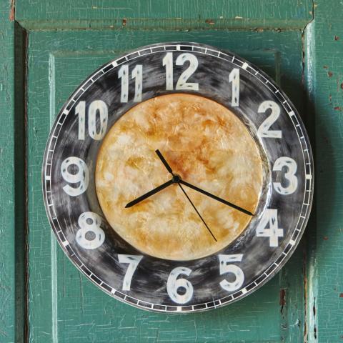 Eangee Metal Wall Clock