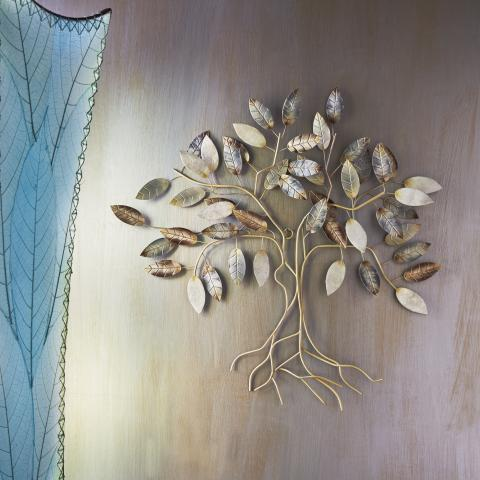 Eangee Metal Wall Art Tree