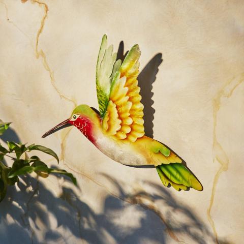 Eangee Hummingbird Metal Wall Decor