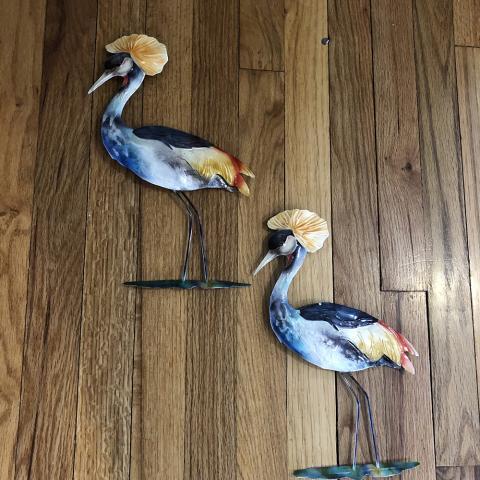 Crane Bird Wall Decor
