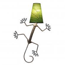 Gecko Lamp in green