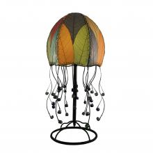 eangee jellyfish table lamp multi-color